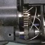 Onjuist draad invoeren Fivea vlechtmachine